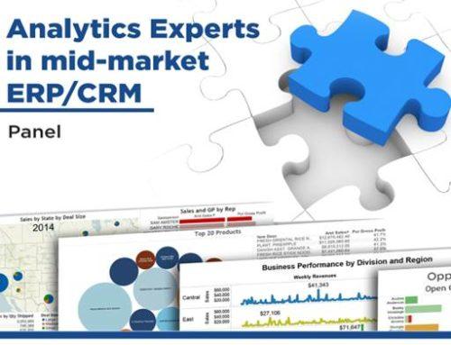 Analytics Experts in mid-market ERP/CRM Panel