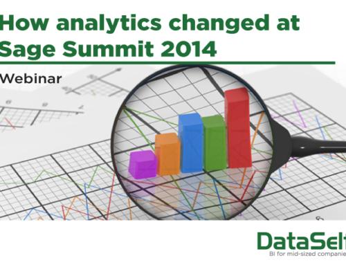 How analytics changed at Sage Summit 2014