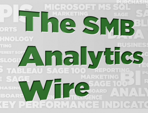 The SMB Analytics Wire – Oct 2017