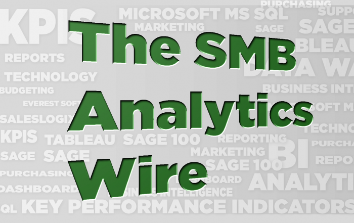 The SMB Analytics Wire – August 2019