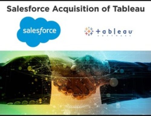What Does the Salesforce Acquisition of Tableau Mean for Salesforce Analytics?