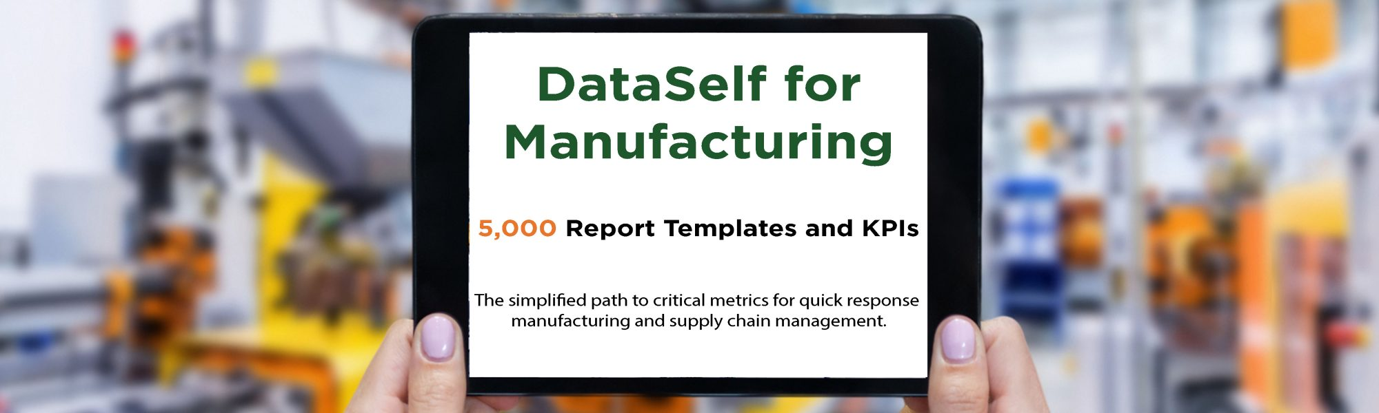 DataSelf Manufacturing BI