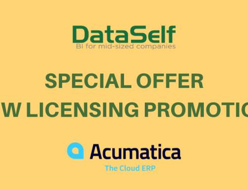 No Charge for DataSelf Analytics for Acumatica until June 30, 2020